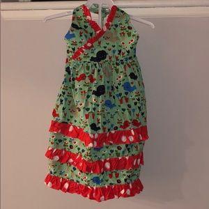 Girls 4T halter dress